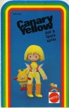Canary Yellow Doll Booklet